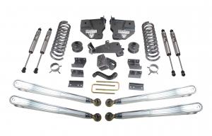 """MAXTRAC - MAXTRAC   4wd Lift Kit w/ 4 Links & Fox Shocks - 6""""/3"""" Lift Height 2014-2018 RAM 2500 (MAXT-K947263FL)"""