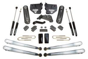 """MAXTRAC - MAXTRAC   4wd Lift Kit w/ 4 Links & Max Trac Shocks - 4""""/1"""" Lift Height 2014-2018 RAM 3500 (MAXT-K947341L)"""