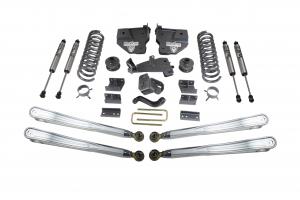 """MAXTRAC - MAXTRAC   4wd Lift Kit w/ 4 Links & Fox Shocks - 4""""/1"""" Lift Height (2500 Models)   (MAXT-K947241FL)"""