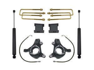 """MAXTRAC - MAXTRAC   2wd Lift Kit w/ Max Trac Shocks - 3""""/1"""" Lift Height 2007-2016 Silverado/Sierra  (MAXT-KS881332)"""