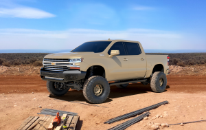 Front - Ranch Hand Midnight Front Bumper - Ranch Hand - Ranch Hand  Midnight Front Bumper   2020+  Silverado  HD  (MFC201BMN)
