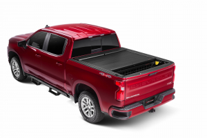 Bed Covers - Roll-N-Lock Manual Bed Covers - Roll-N-Lock - Roll-N-Lock  Bed Cover  2020+  Silverado/Sierra  HD  8' Bed  (LG225M)