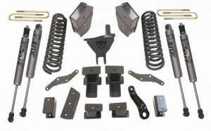 """MAXTRAC - MAXTRAC   4wd Lift Kit w/ 4 Links & Fox Shocks - 6""""/2"""" Lift Height2017-2020 F250/F350 (MAXT-K943362FL)"""