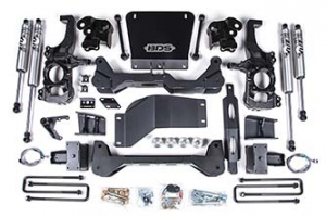"BDS - BDS  5""  High Clearance Lift Kit w/FOX Shocks    2020+  Silverado/Sierra  HD  (766FS) - Image 1"