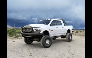 Ranch Hand Front Bumpers - Ranch Hand Midnight Front Bumper - Ranch Hand - Ranch Hand  Midnight Front Bumper W/ Guard - 2010-2018  Ram HD  (MFD101BM1)