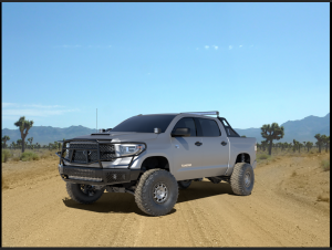 Ranch Hand Front Bumpers - Ranch Hand Midnight Front Bumper - Ranch Hand - Ranch Hand  Midnight Front Bumper W/ Guard - 2014+  Tundra  (MFT14HBM1)