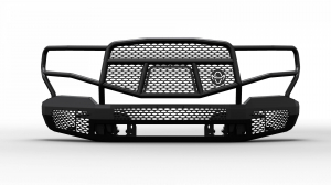 Ranch Hand Front Bumpers - Ranch Hand Midnight Front Bumper - Ranch Hand - Ranch Hand  Midnight Front Bumper W/ Guard 2016+   Tacoma  (MFT16MBM1)
