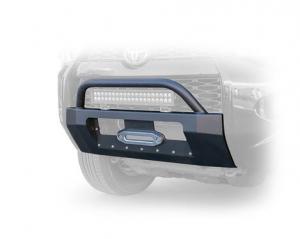 Front - DV8 Front Bumpers - DV8 Offroad - DV8 Center Mount Winch Capable Front Bumper 2014+ 4Runner  (FBTF3-01)