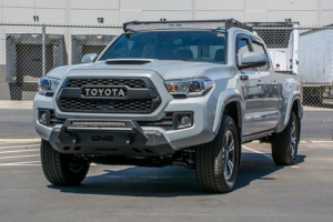 Front - DV8 Front Bumpers - DV8 Offroad - DV8 Center Mount Winch Capable Front Bumper 2016+ Tacoma  (FBTT1-05)