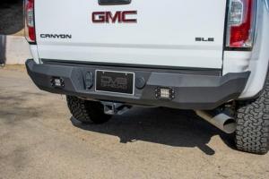 Rear - DV8 Rear Bumpers - DV8 Offroad - DV8 Rear Bumper W/ Lights 2015-2020 Canyon/Colorado  (RBGC-01)