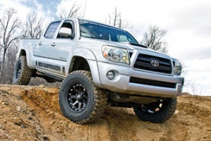 """BDS - 6"""" Coilover Lift Kit  w/FOX Shocks  2005-2015  Tacoma 4wd  (815F)"""