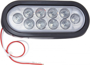 Roughneck    Clear Led Lights For Headache Racks (J-66CK)