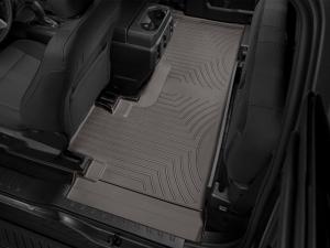 Interior Accessories - Weathertech Floor Mats - Weathertech - WeatherTech  Rear  FloorLiner  DigitalFit   Cocoa   2021+  F150  (476976)