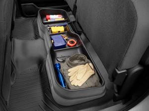 Interior Accessories - Underseat Storage - Weathertech - WeatherTech Underseat Storage System 2019+ Silverado/Sierra Crew Cab (4S005)