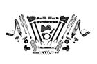 """BDS - 6"""" 4-Link Coil-Over Lift Kit 2020+ F350 Diesel DRW (1574F)"""