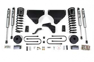 """BDS - 4"""" Suspension Lift Kit 2013-2018 RAM 3500 4WD w/ Rear Air Ride *GAS* (1645H)"""