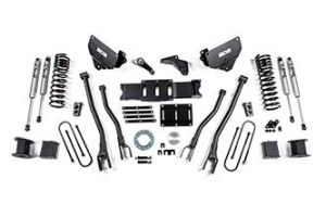 """BDS - 6"""" 4-Link Lift Kit 2013-2018 Ram 3500 4WD w/ Rear Air Ride (1648H)"""