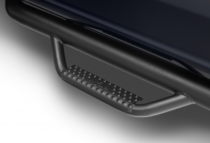 Drop Steps - N-FAB Drops Steps - N-FAB - N-FAB Nerf Step 2014-2019Classic  Silverado/Sierra 1500 Double Cab All Beds Gas SRW Gloss Black (C1473QC)