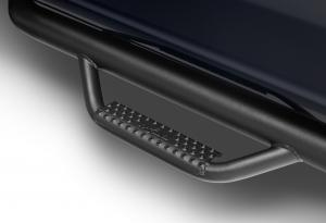 Drop Steps - N-FAB Drops Steps - N-FAB - N-FAB Nerf Step 2014-2019Classic  Silverado/Sierra 1500 Double Cab All Beds Gas SRW Textured Black (C1473QC-TX)