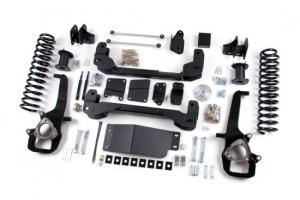 """ZONE  4"""" Lift Kit w/ Nitro Shocks 2008-2013 RAM 2500 Powerwagon w/ 3.5"""" Axle *GAS* (ZOND142N)"""