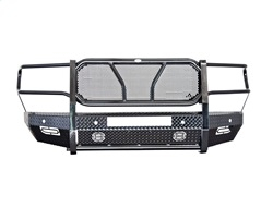 Frontier Truck Gear - FRONTIER  Original Front Bumper  - NO Camera Cutout - Light Bar Compatible 2020 Silverado HD  (300-22-0008)