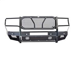 Frontier Front Bumpers - Frontier Pro Front Bumper - Frontier Truck Gear - FRONTIER PRO Front Bumper   -NO Camera Cutout-   Light Bar Compatible  2020 Silverado HD  (130-22-0008)
