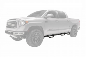 N-FAB Nerf Step 2005-2015  Toyota Tacoma Double Cab 6' Bed Gas SRW Gloss Black (T0690CC-6)