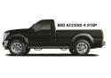 N-FAB Nerf Step 2009-2019Classic RAM 2010-2018 HD Regular Cab 8' Long Bed Gas / Diesel SRW / DRW Textured Black (D0989RC-4-TX)