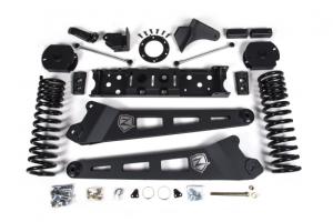 """ZONE  4""""  Radius  Arm  Kit  w/  Nitro  Shocks  2019-2020  RAM  2500  4WD *GAS*  (ZOND79N)"""