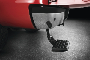 AMP Bedstep    2009-2019Classic   Ram  1500  &  2010-2018  Ram HD * NOT COMPATABLE WITH DUAL EXHAUST OR ECODIESEL MODELS* * Non Plug & Play* (75306-01A)